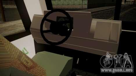 Chevrolet B70 Bus Colombia para la visión correcta GTA San Andreas