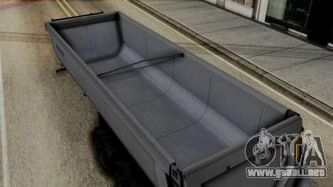 Schmied Bigcargo Solid Trailer Stock para la visión correcta GTA San Andreas