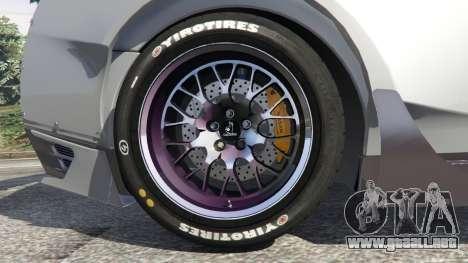 GTA 5 Nissan GT-R (R35) [RocketBunny] vista lateral derecha