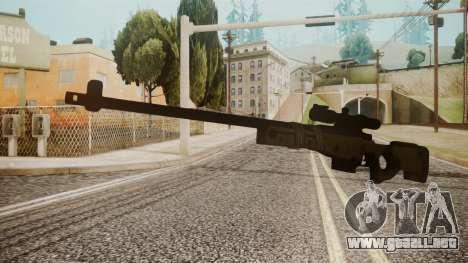 Sniper Rifle by catfromnesbox para GTA San Andreas