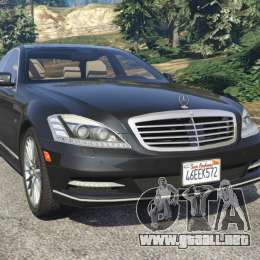 Mercedes benz s600 w221 2009 para gta 5 for 2009 mercedes benz s600
