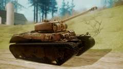 Heavy Tank M6 from WoT para GTA San Andreas
