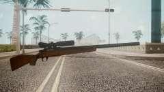 Low Poly Hunting Rifle para GTA San Andreas