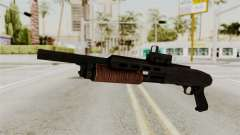 Shotgun from RE6 para GTA San Andreas