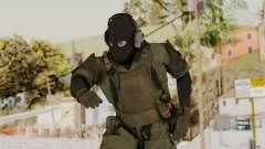 MGSV Ground Zero MSF Soldier para GTA San Andreas