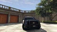 Chevrolet Suburban Sheriff 2015 para GTA 5
