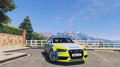 Audi A4 Avant 2013 British Police