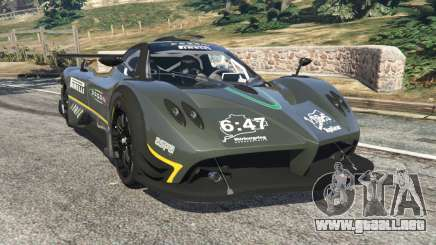 Pagani Zonda R 2009 v0.5 para GTA 5
