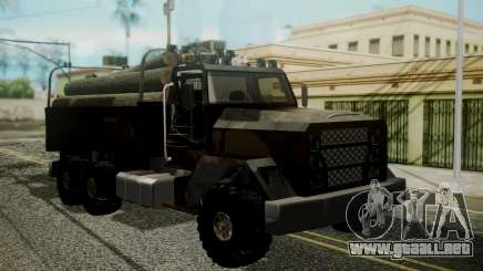 New Flatbed Hard Forest para GTA San Andreas