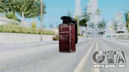 Molotov Cocktail from RE6 para GTA San Andreas