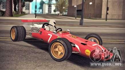 Ferrari 312 F1 para GTA San Andreas
