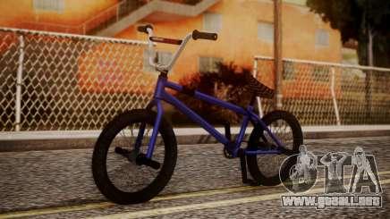 Nueva BMX para GTA San Andreas