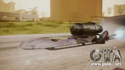 Hovercraft Anime para GTA San Andreas