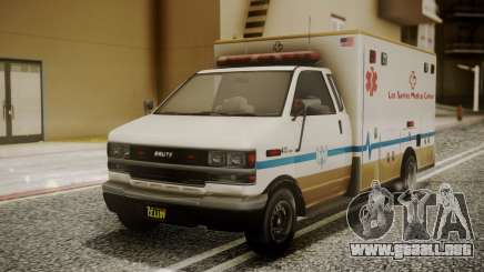 GTA 5 Brute Ambulance para GTA San Andreas