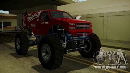 GTA 5 Vapid The Liberator IVF para GTA San Andreas