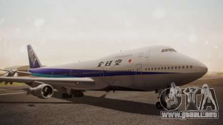 Boeing 747SR All Nippon Airways (NC) para GTA San Andreas