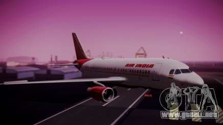 Airbus A319-100 Air India para GTA San Andreas