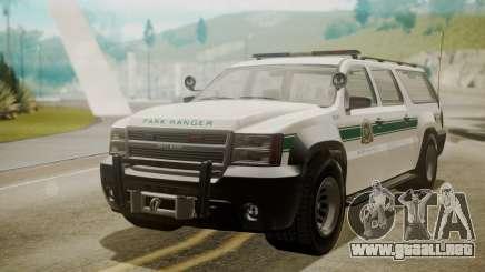 GTA 5 Declasse Granger Park Ranger para GTA San Andreas
