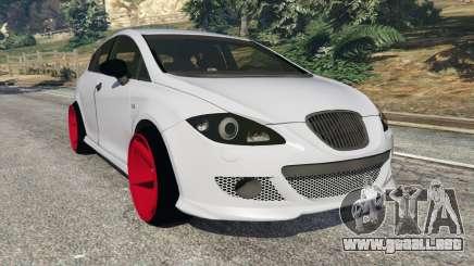 SEAT Leon II 2010 v1.1 para GTA 5