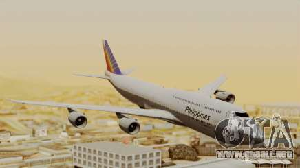 Boeing 747-8I Philippine Airlines para GTA San Andreas