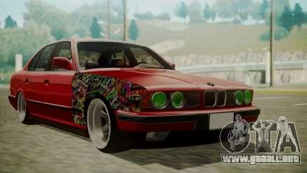 BMW 535i E34 para GTA San Andreas
