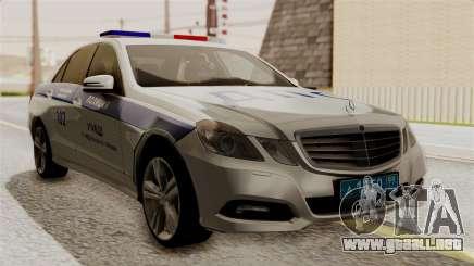 Mercedes-Benz E500 Ministerio del interior, la policía de tráfico para GTA San Andreas