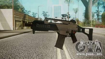G36C Silver para GTA San Andreas