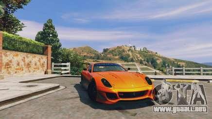 Ferrari 599XX Super Sports Car para GTA 5