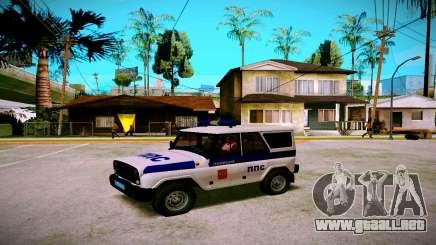 UAZ hunter Servicio PPP para GTA San Andreas