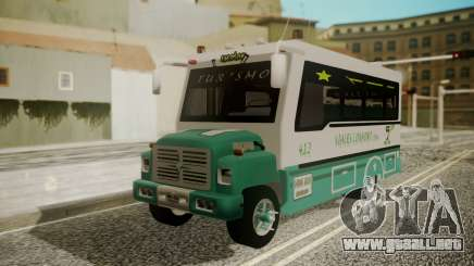 Chevrolet B70 Bus Colombia para GTA San Andreas
