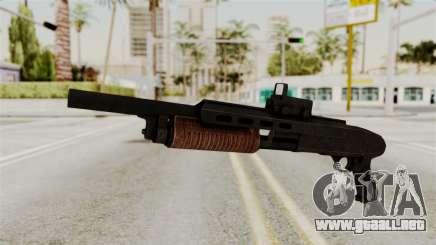 Shotgun from RE6 para GTA San Andreas
