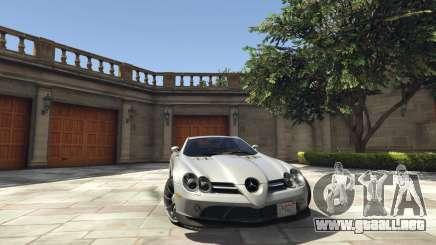 Mercedes-Benz SLR 2005 v2.0 para GTA 5