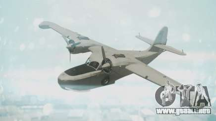 Grumman G-21 Goose Grey para GTA San Andreas