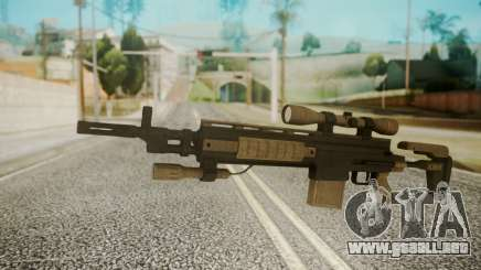 Sniper Rifle from RE6 para GTA San Andreas