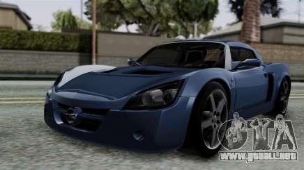 Opel Speedster Turbo 2004 Stock para GTA San Andreas