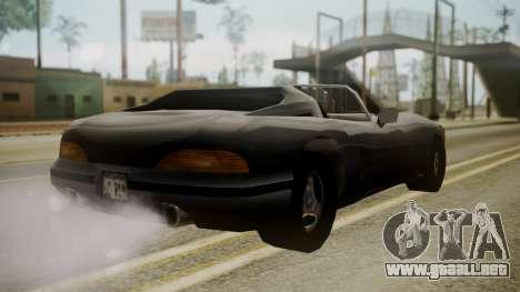 Banshee III para GTA San Andreas left