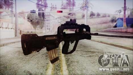 Famas G2 para GTA San Andreas segunda pantalla
