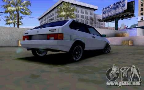 VAZ 2108 V2 para la visión correcta GTA San Andreas