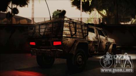 Joint Light Tactical Vehicle para GTA San Andreas left
