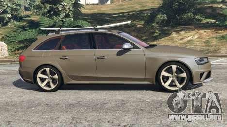 GTA 5 Audi RS4 Avant 2013 vista lateral izquierda