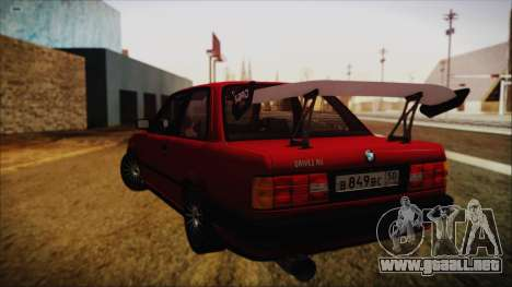 BMW M3 E30 Coupe Drift para GTA San Andreas left