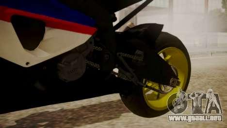 BMW S1000RR Limited para la visión correcta GTA San Andreas