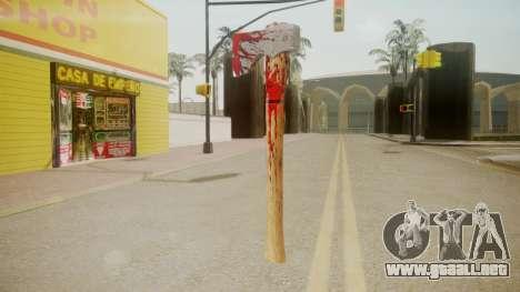 GTA 5 Katana para GTA San Andreas segunda pantalla