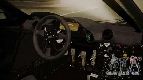 McLaren F1 GTR 1998 Day Off para la visión correcta GTA San Andreas