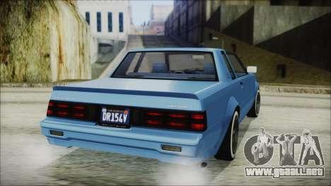 GTA 5 Willard Faction Custom IVF para GTA San Andreas left