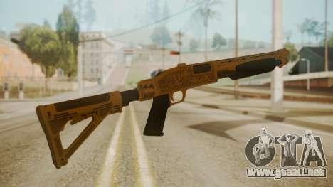 GTA 5 Pump Shotgun para GTA San Andreas segunda pantalla