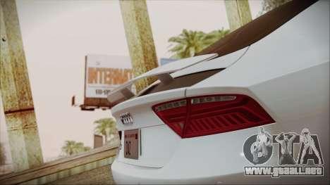 Audi RS7 Sportback 2015 para el motor de GTA San Andreas