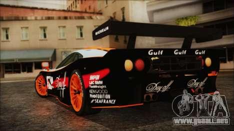 McLaren F1 GTR 1998 para GTA San Andreas left