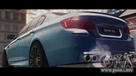 BMW M5 F10 Stock MTA Version para GTA San Andreas left