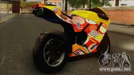 GTA 5 Bati HD para GTA San Andreas left